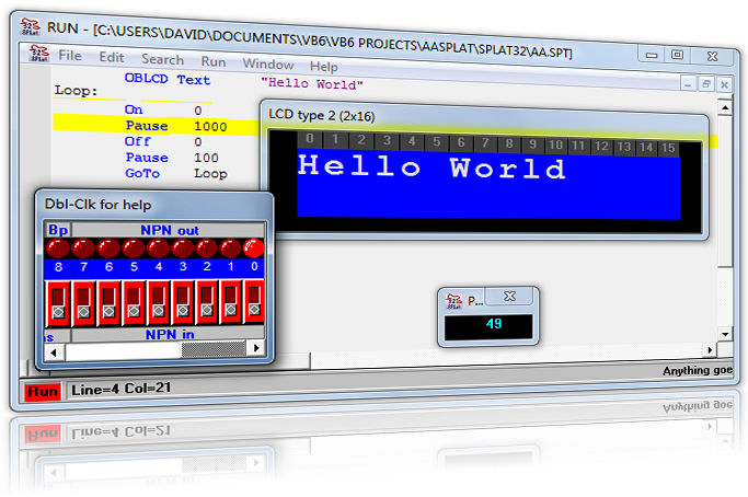 SPLat Controls - Free PLC software for SPLat embedded OEM machine